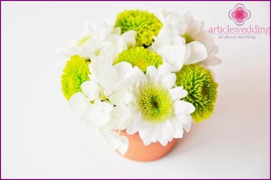 Create a flower arrangement