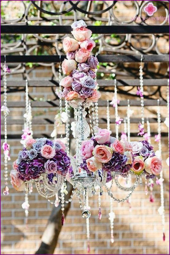Wedding Hanging Arrangements