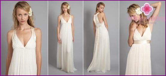 Loose Fit Wedding Dress
