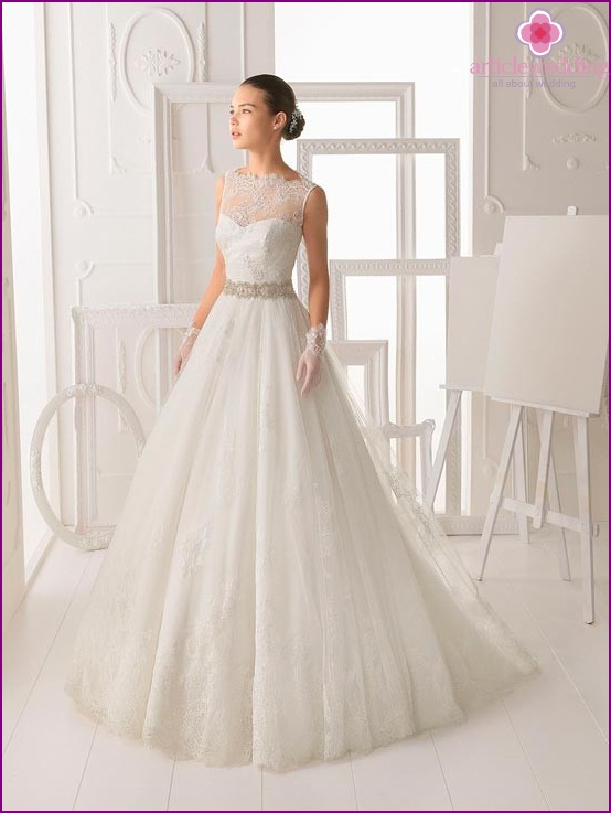 Fashionable wedding dresses 2014