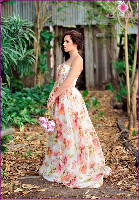 Print on dress