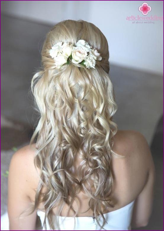 Flower hair clip