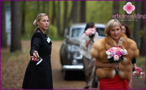 Wedding steward