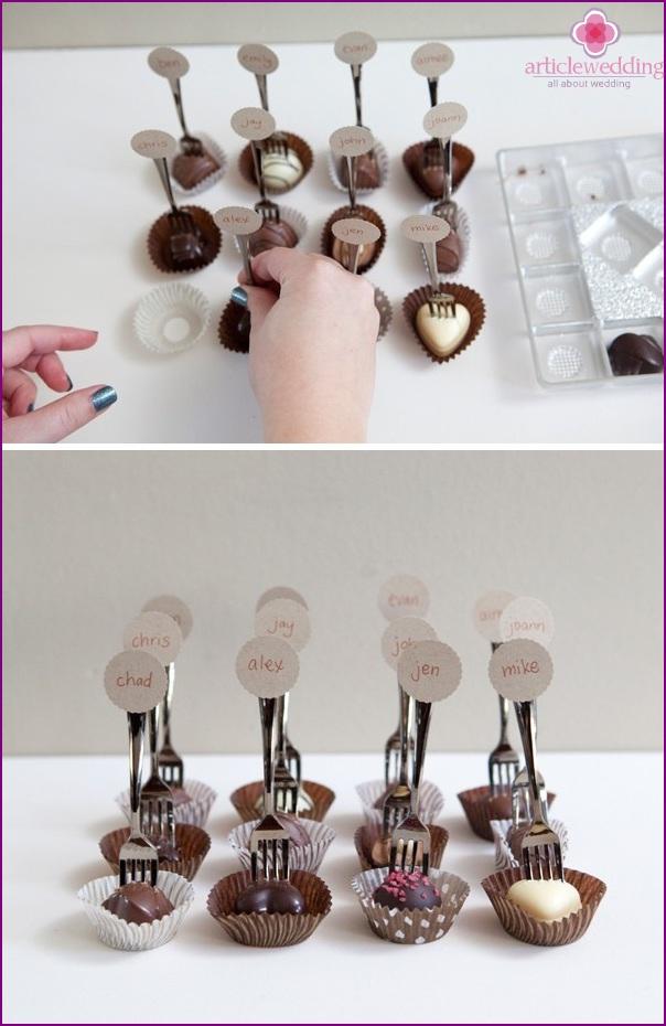 Laita makeiset pikkuleikkureihin