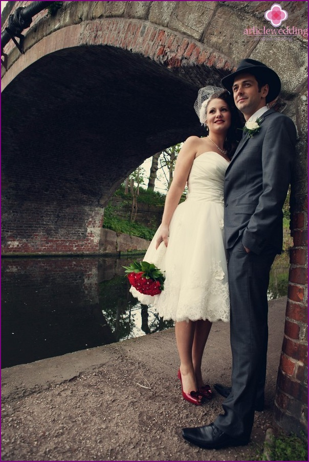 Images of the newlyweds