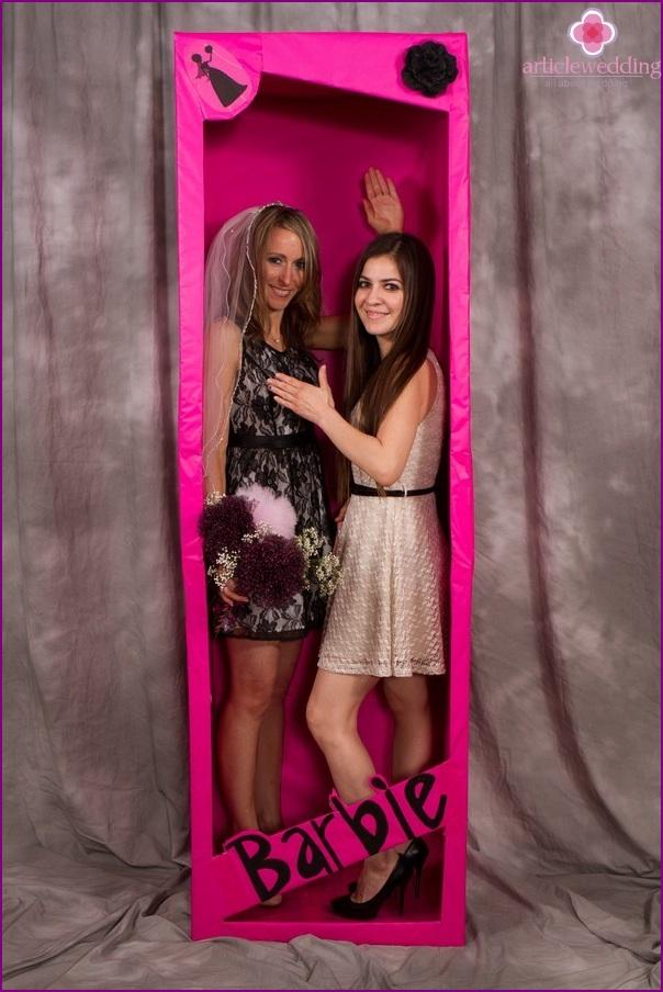 Barbie style photo shoot