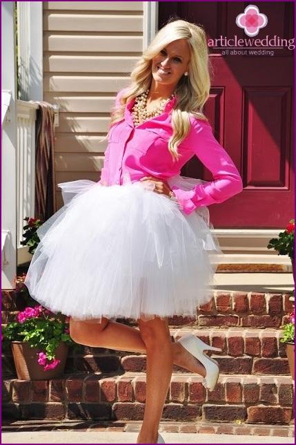 Barbie style bride
