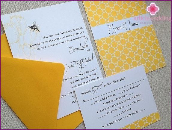 Honeymoon Invitations