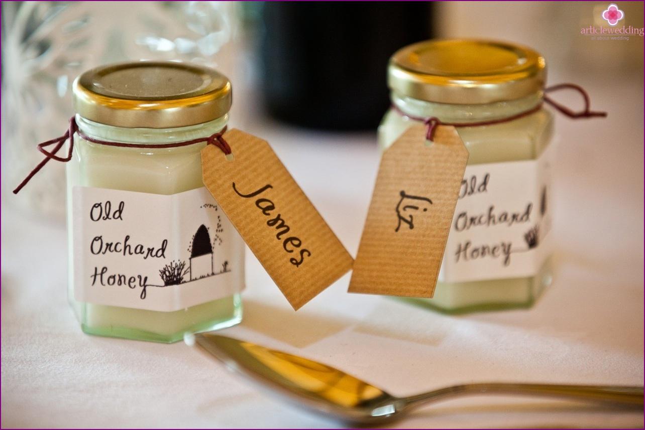 Honeymoon Seating Wedding Cards
