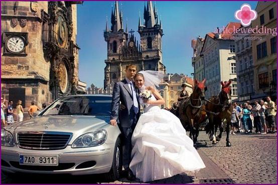 Organization of a wedding in Prague