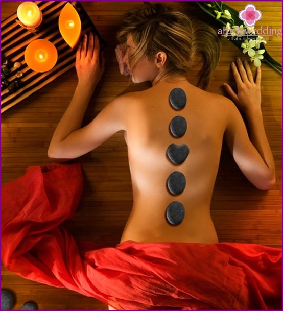 Spa treatments for the bride