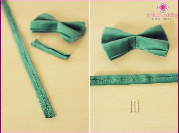 Stitching the strap