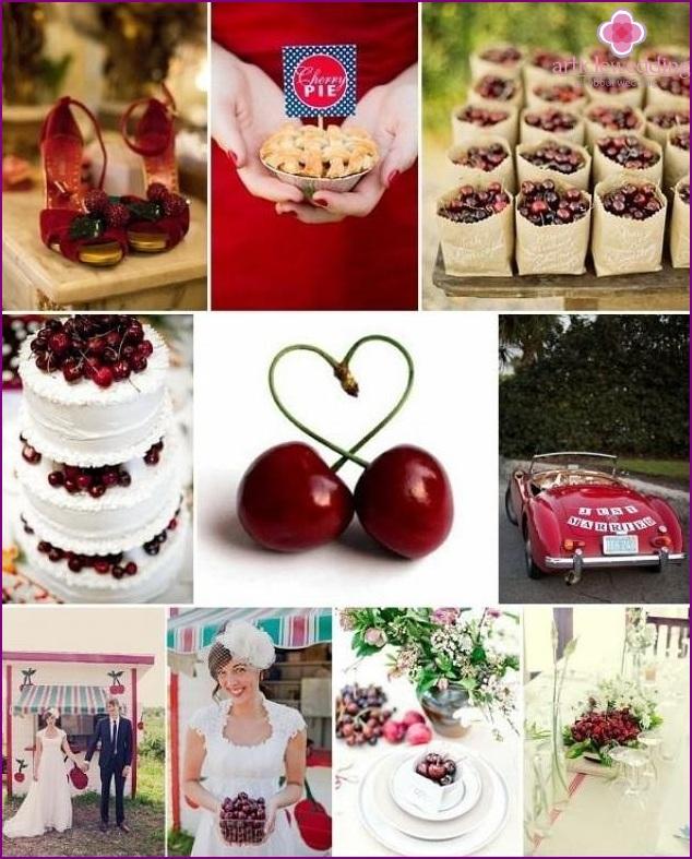 Cherry Wedding Idea