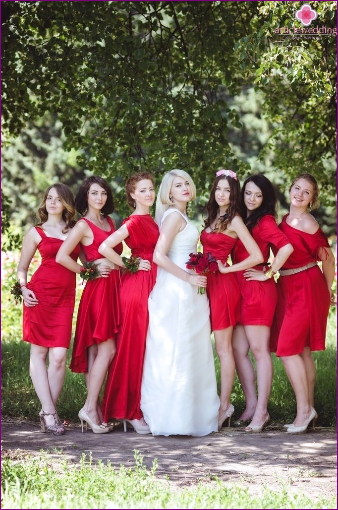 Girlfriends Wedding Style
