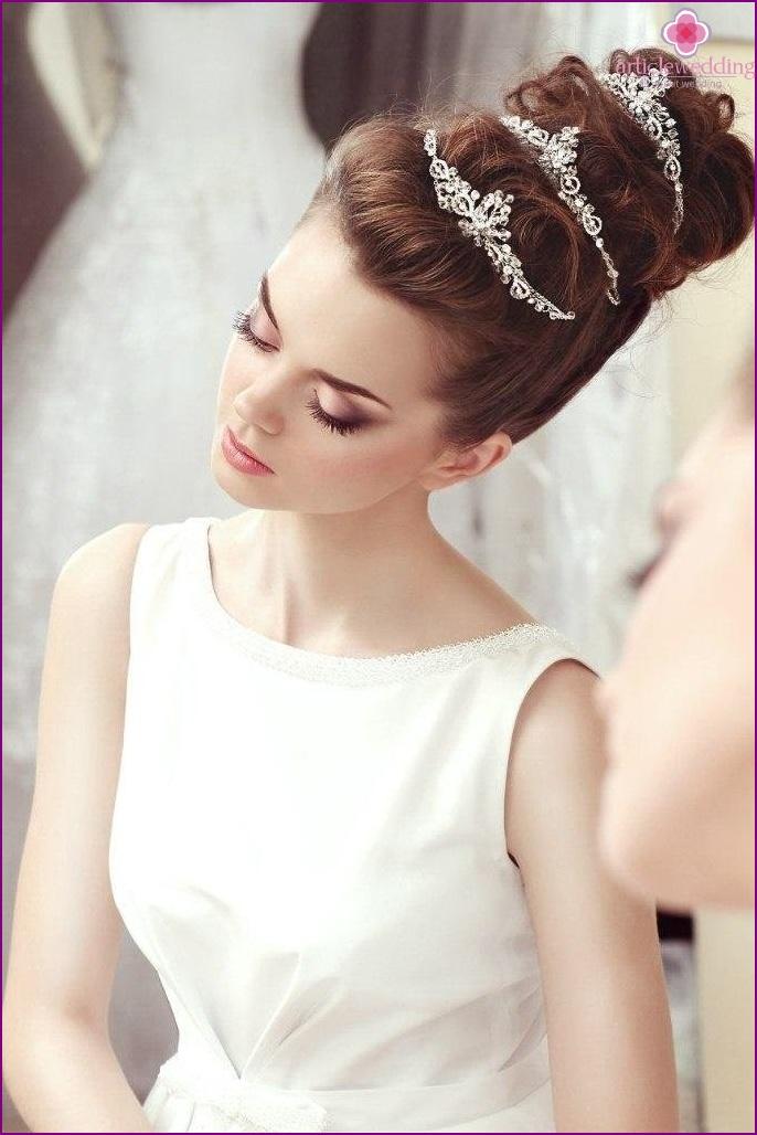 Tiara for the bride