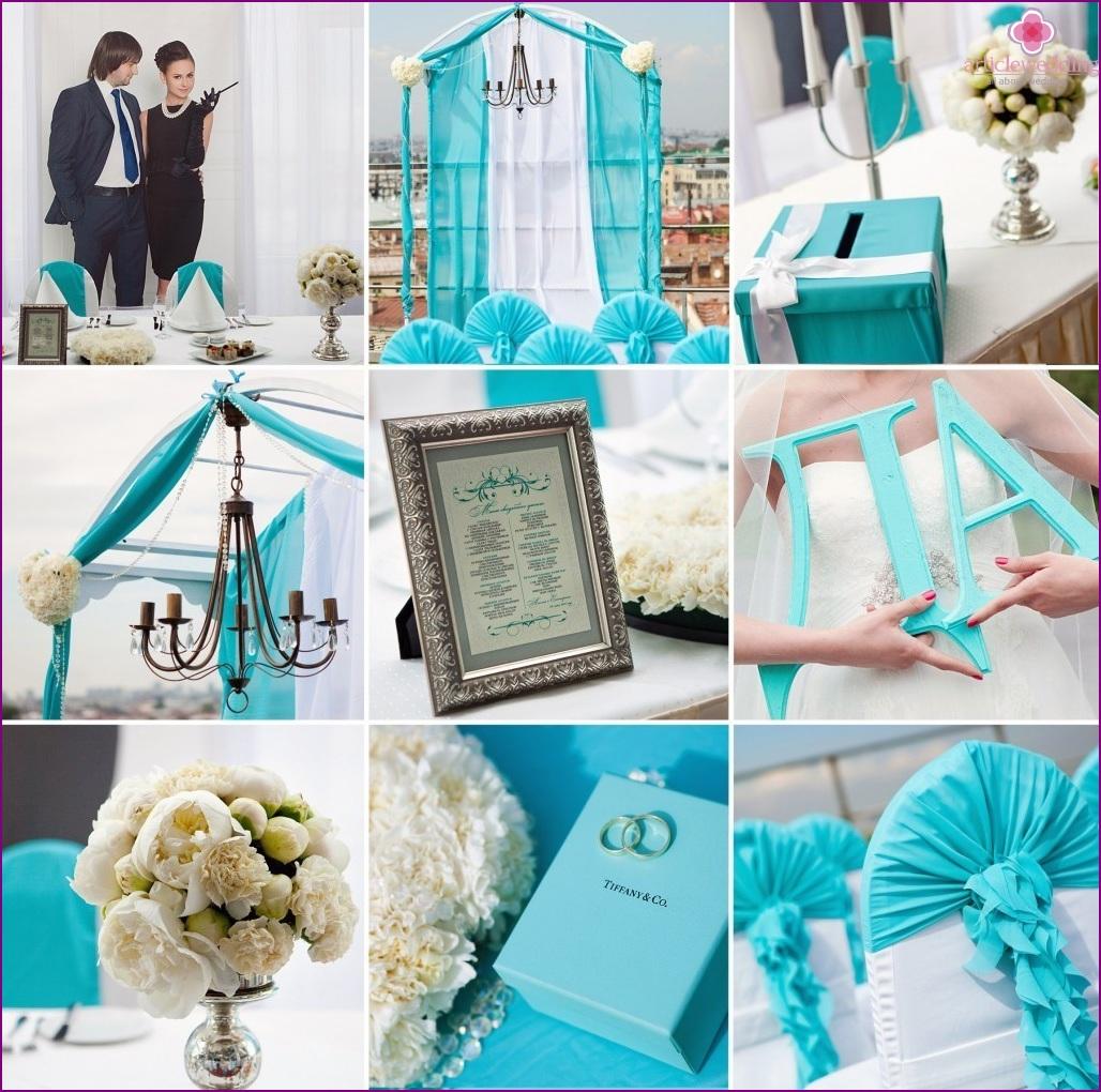 Tiffany's Breakfast Style Wedding