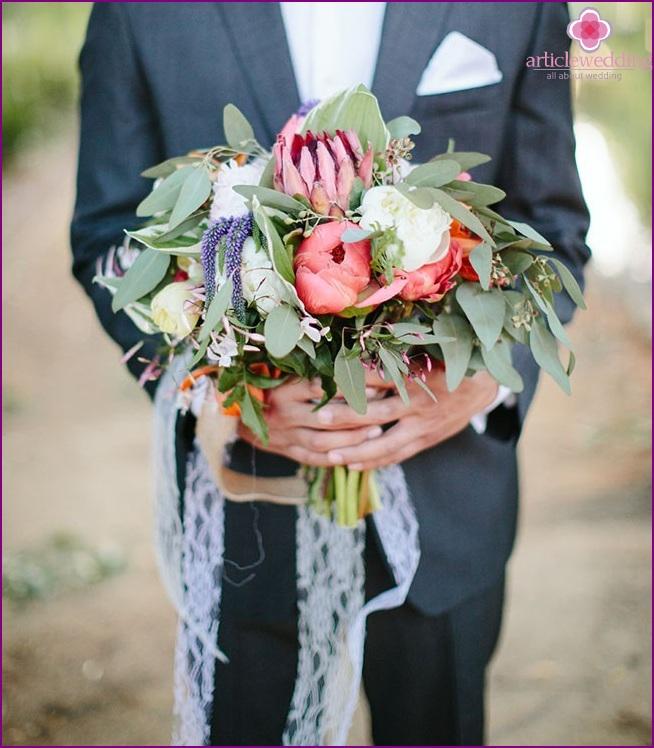 Bouquet for the bride