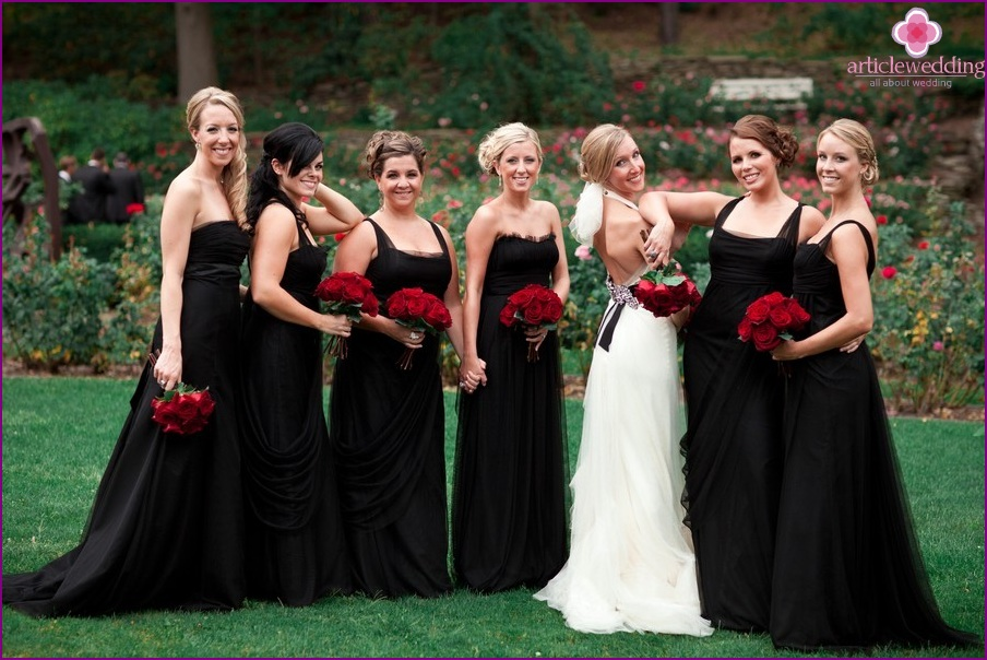 Bridesmaids and their style