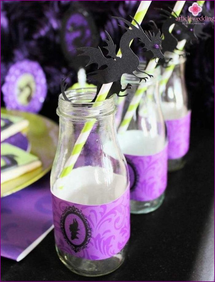 Maleficent cocktails