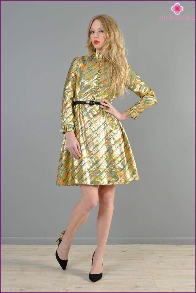 Evening Dress Material