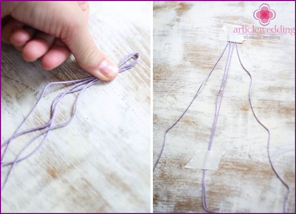 Preparing two threads for work