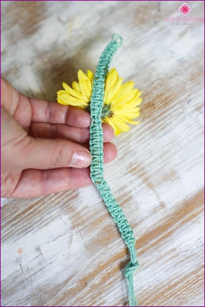 Type of tied stalk