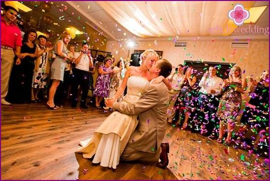 Enjoy your wedding party