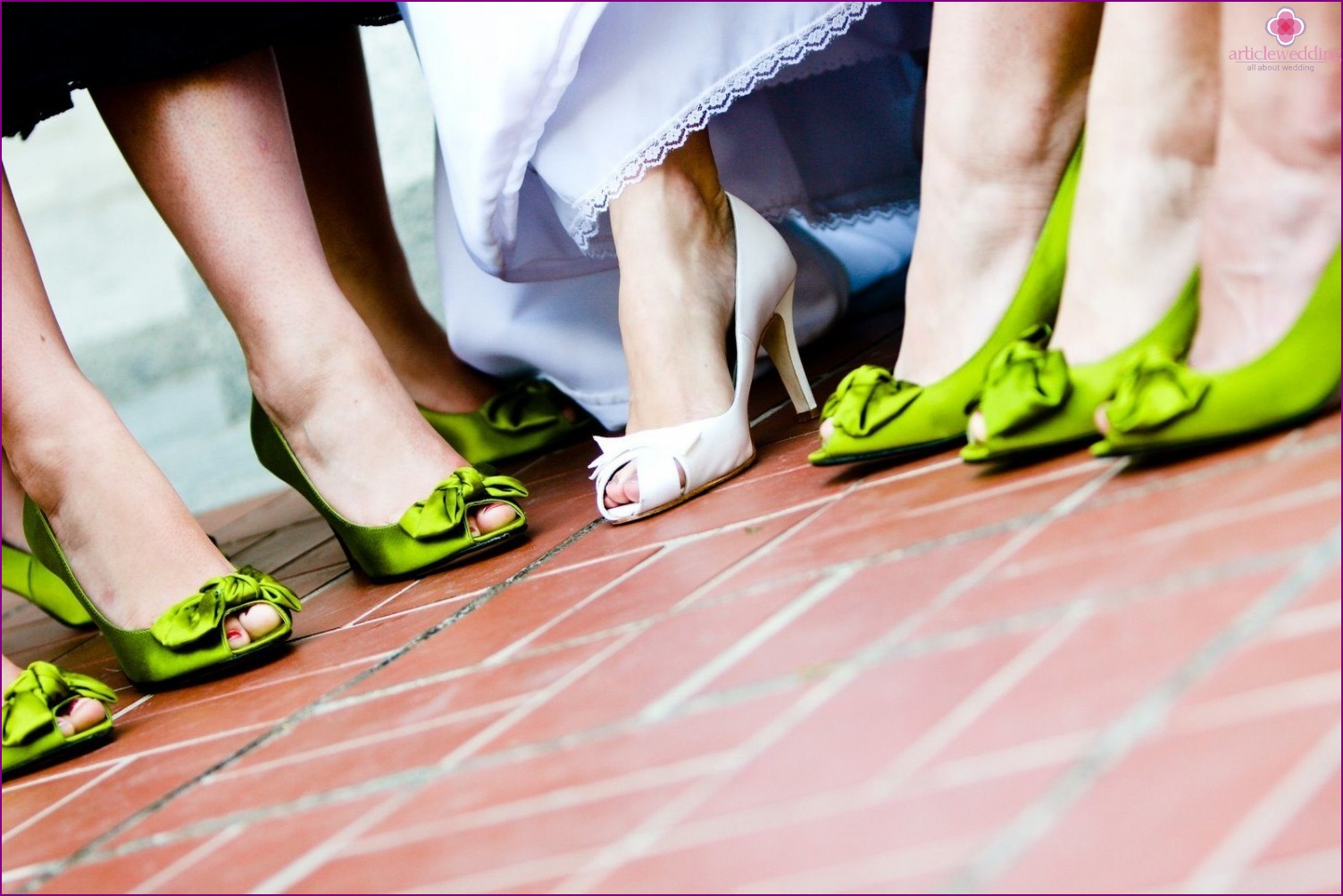 Shoes of the modern bride