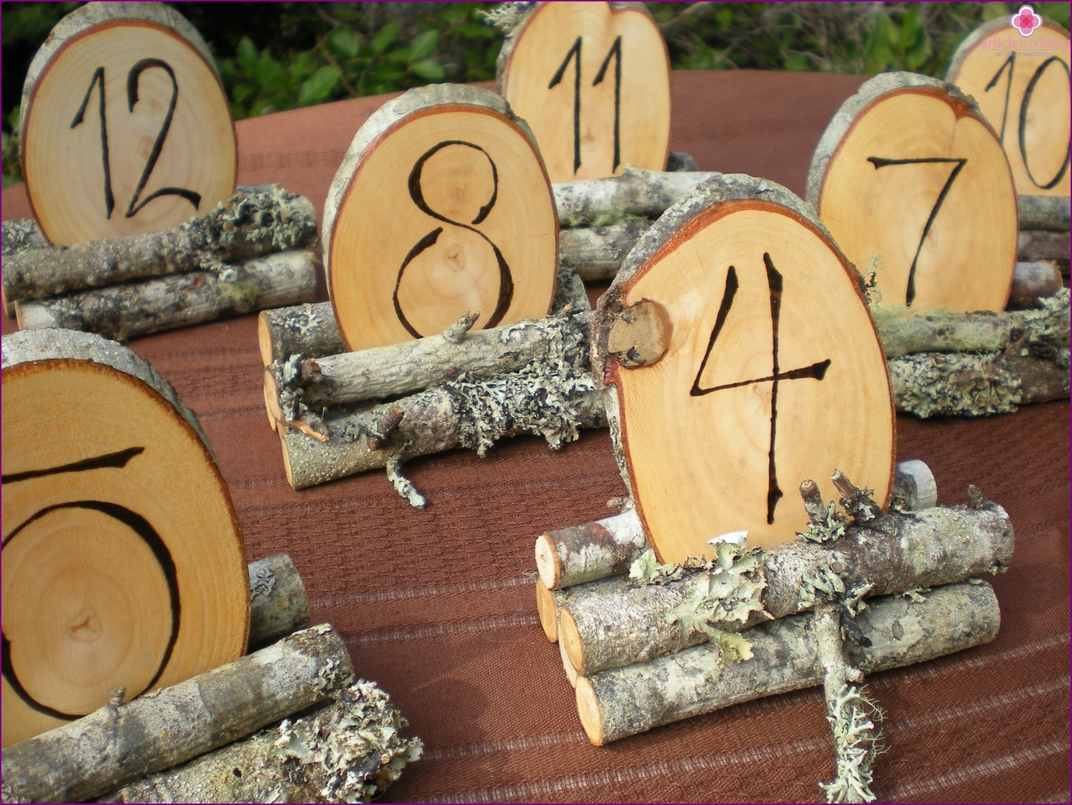 Beautiful table numbers
