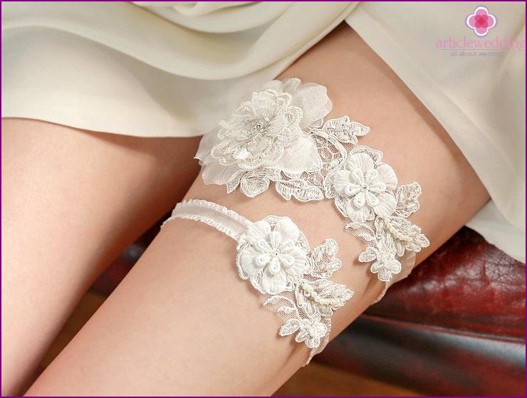 Garter for the bride
