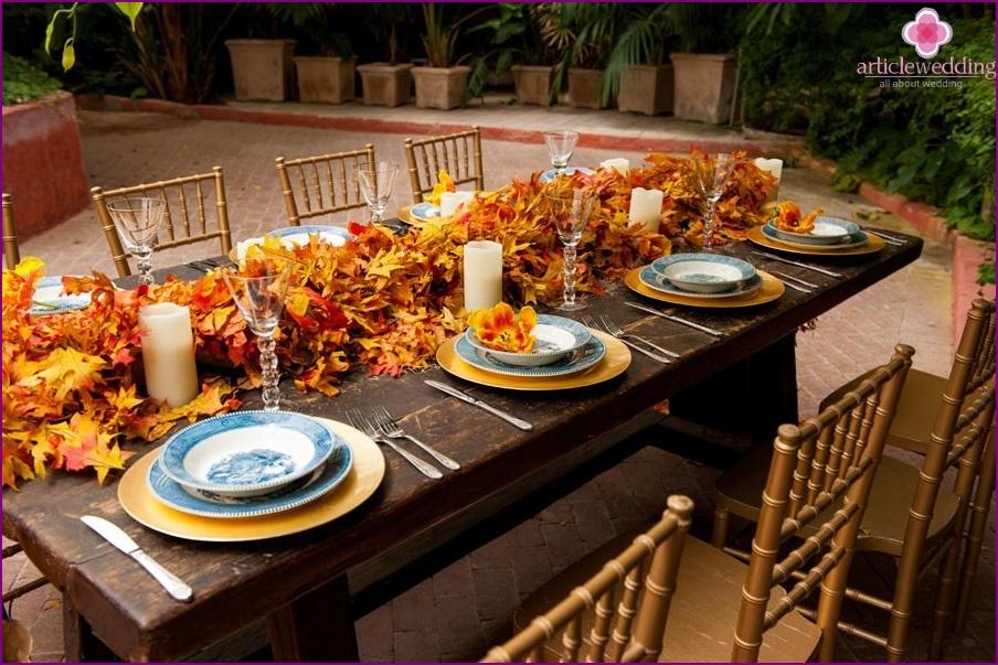 Autumn Wedding Decor