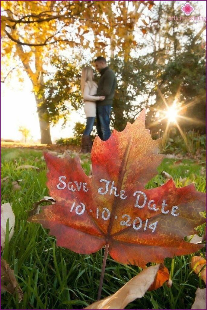 Wedding photo invitation
