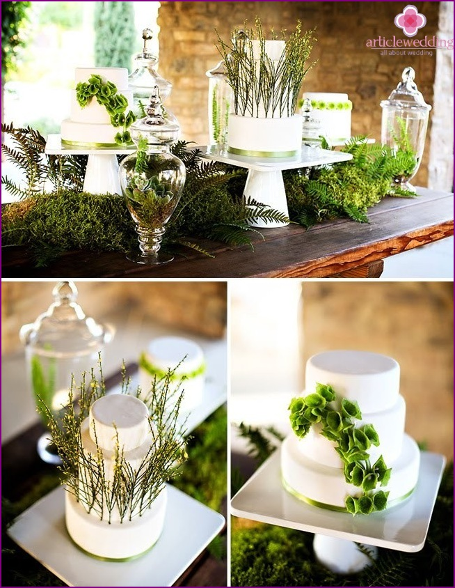 Eco-friendly wedding decor