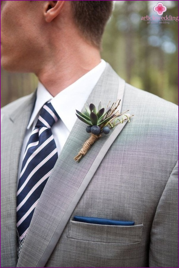 Blueberry image of the groom