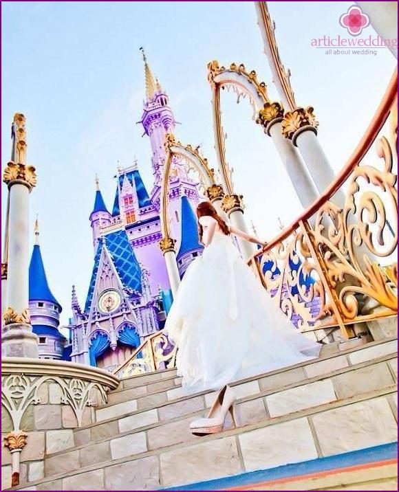 Cinderella Fairytale Style Wedding