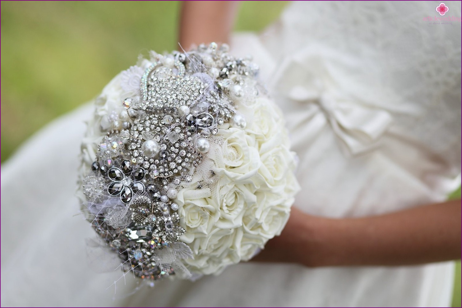 Bouquet in the style of a fairy tale Cinderella