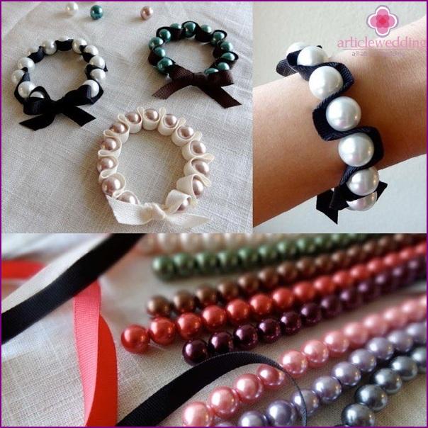 Bracelet on the arm
