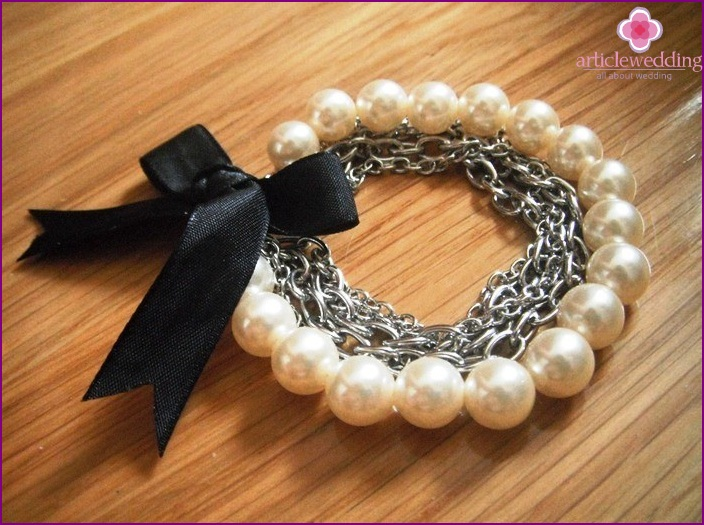 Bead Bracelet and Chain