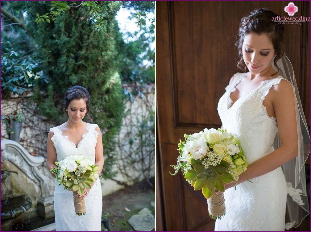 The image of the bride