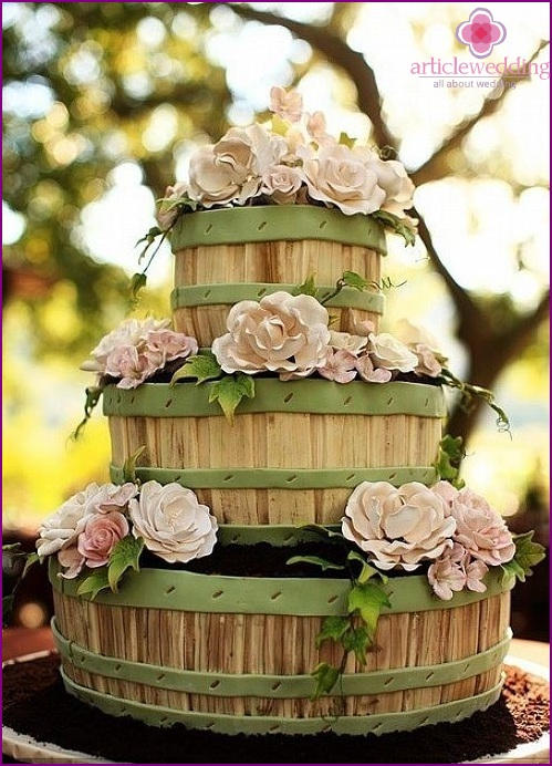 Country style cake