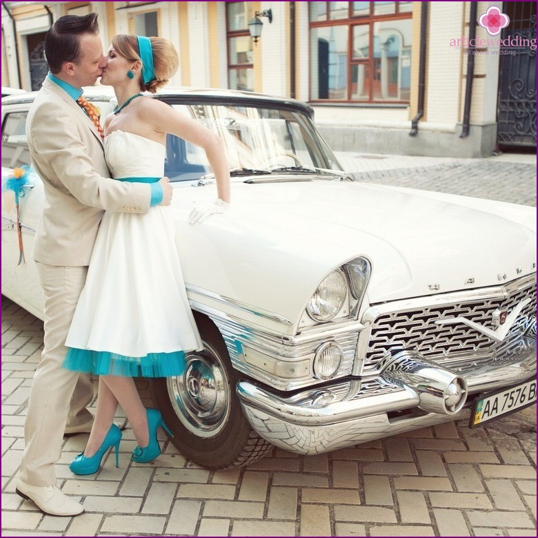 Hipster style wedding