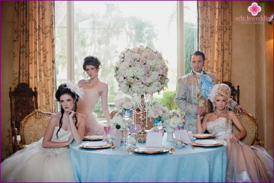 Salon format wedding