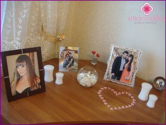 Photos for bride home decoration