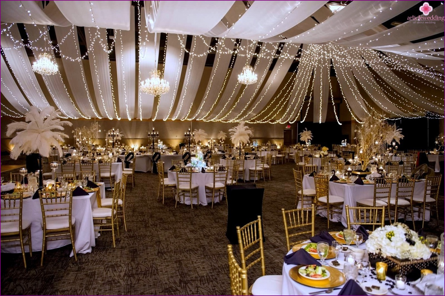 The Great Gatsby Style Wedding