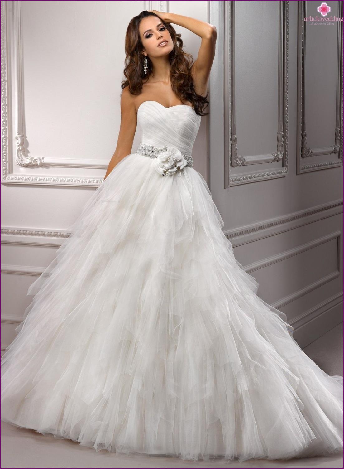 Princess Balloon Wedding Dress