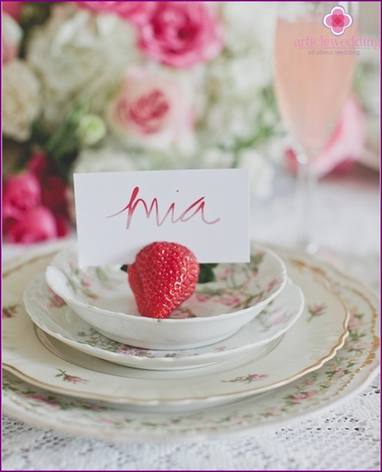 Strawberry Banquet Cards