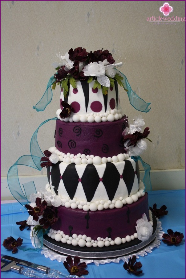 Wonderland style cake