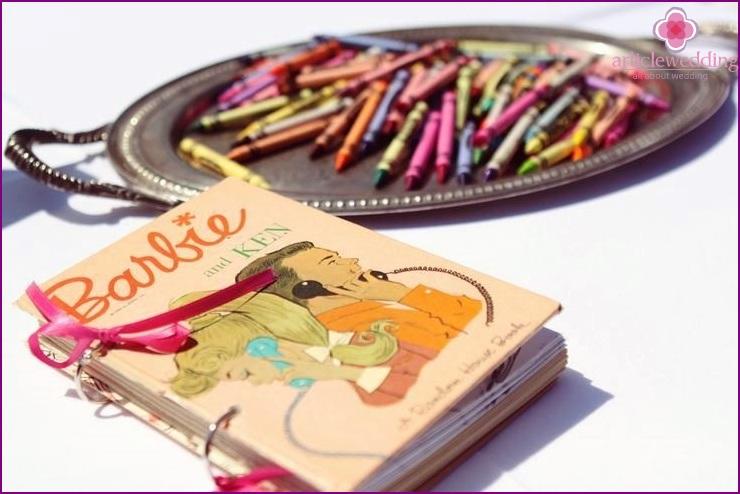Barbie style wish book
