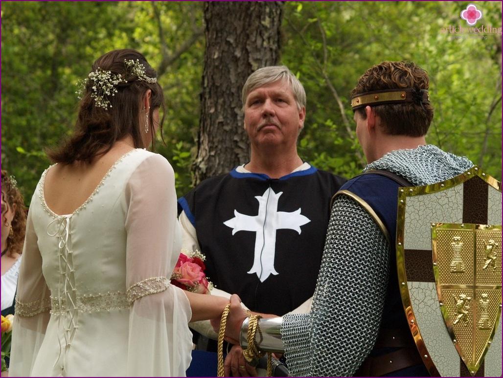 Hochzeit im Ritterstil