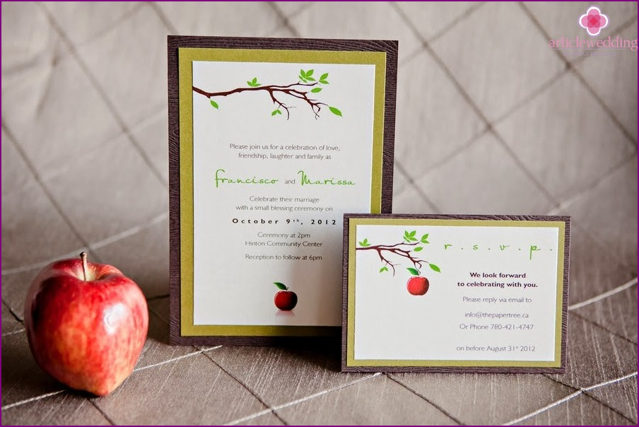 """Invitations in the style of """"Snow White and the Seven Dwarfs"""""""